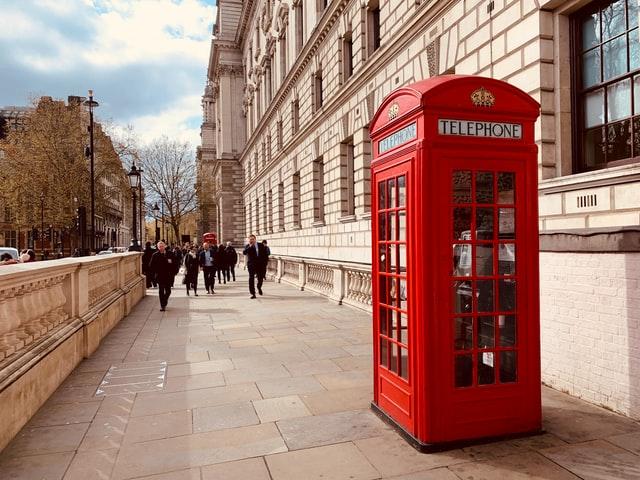 Assurance voyage Angleterre